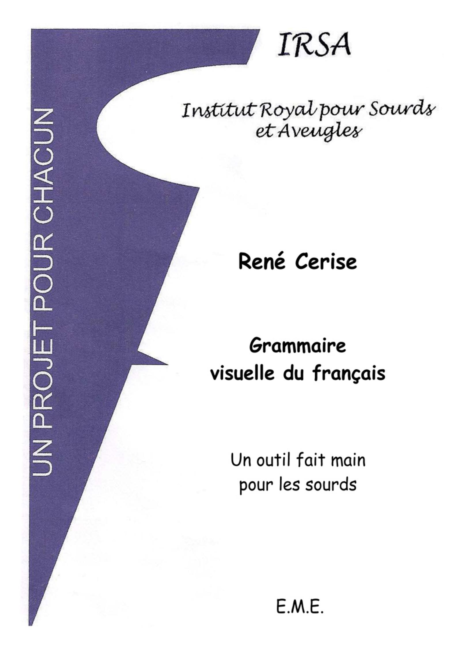 Grammaire Visuelle Du Francais Un Outil Fait Main Pour Les