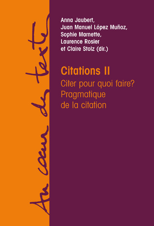 Couverture Citations II