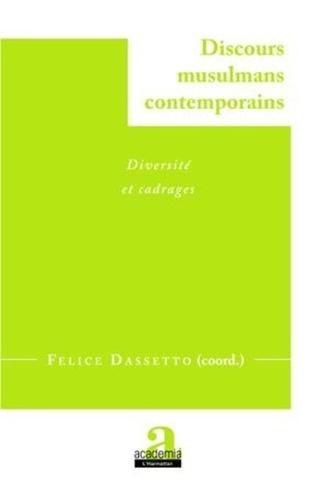 Couverture Discours musulmans contemporains