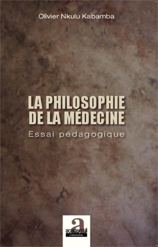 Couverture Philosophie de la médecine