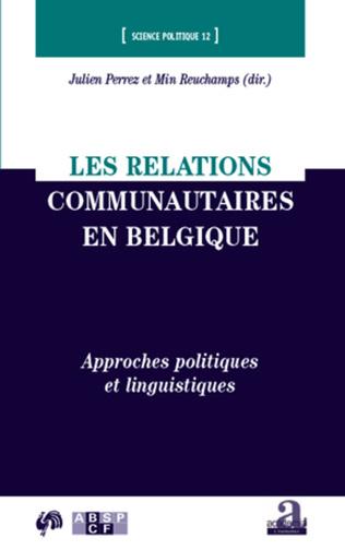 Couverture Les relations communautaires en Belgique