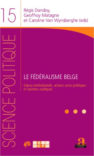 Couverture Le fédéralisme belge