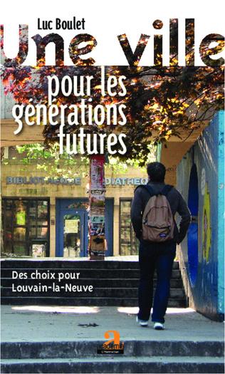 Couverture Une ville pour les générations futures