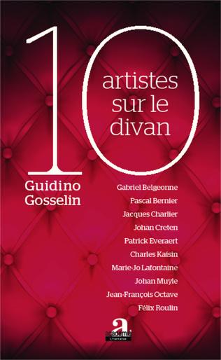 Couverture 10 artistes sur le divan