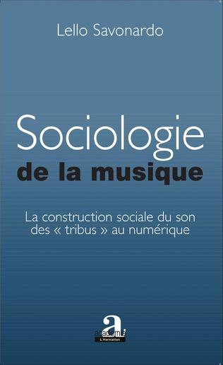 Couverture Sociologie de la musique