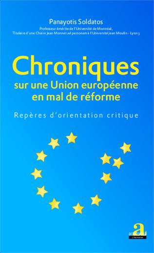 Couverture Chroniques sur une Union européenne en mal de réforme