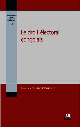 Couverture Le droit électoral congolais