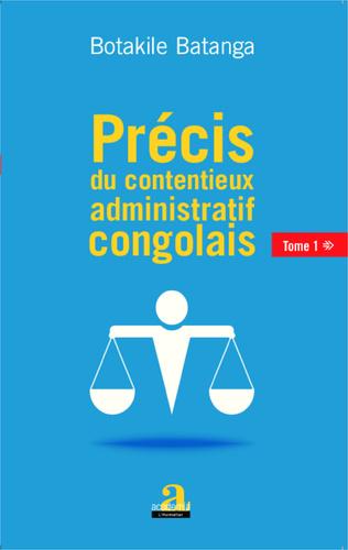 Couverture Précis du contentieux administratif congolais