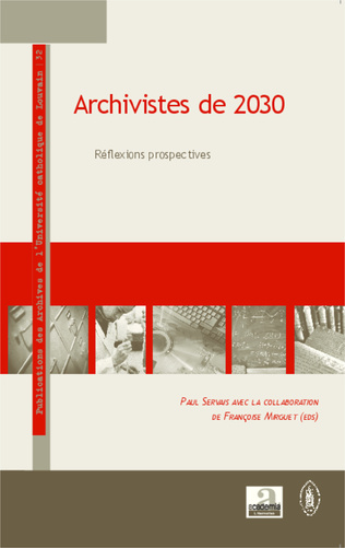 Couverture Archivistes de 2030
