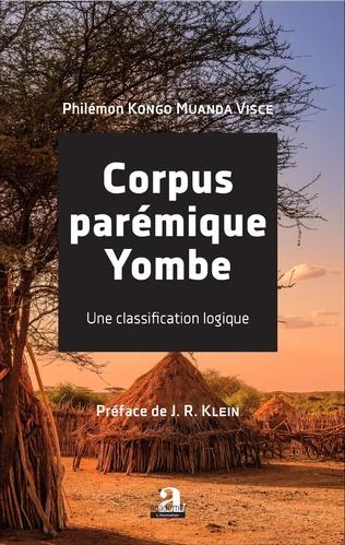 Couverture Corpus parémique Yombe