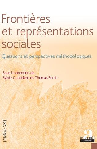 Couverture Frontières et représentations sociales.