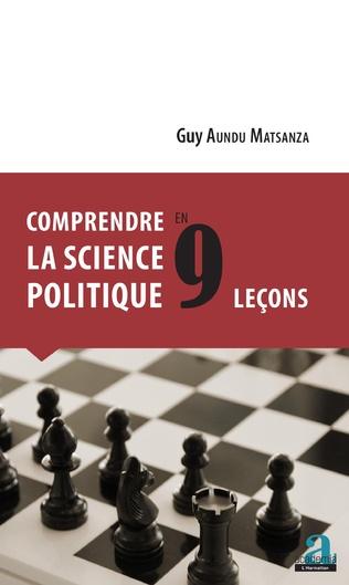 Couverture COMPRENDRE LA SCIENCE POLITIQUE EN 9 LECONS