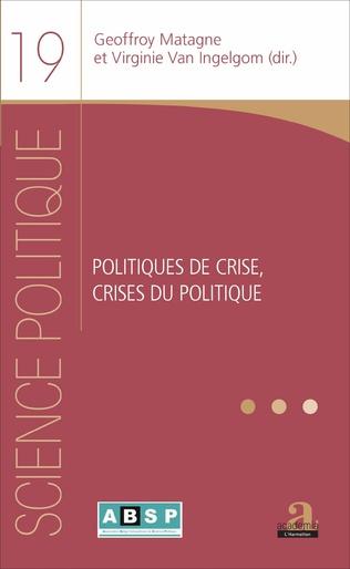 Couverture POLITIQUES DE CRISE