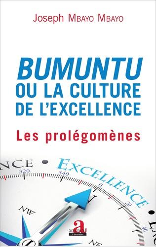 Couverture Bumuntu ou la culture de l'excellence