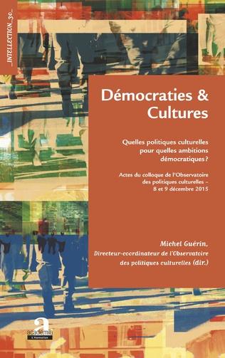 Couverture Démocraties et cultures.