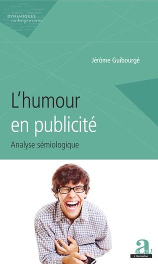 Couverture L'humour en publicité