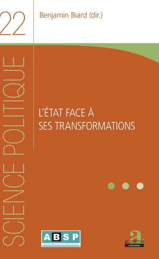 Couverture L'État face à ses transformations