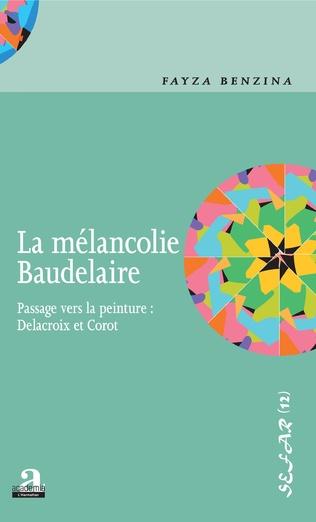 Couverture La mélancolie Baudelaire