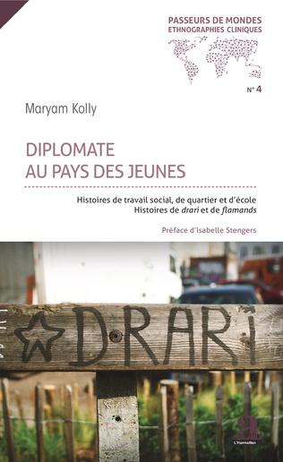Couverture Diplomate au pays des jeunes