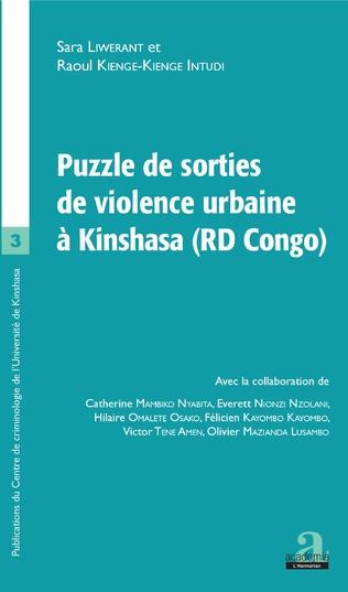 Couverture Puzzle de sorties de violence urbaine à Kinshasa (RD Congo)