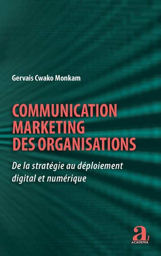 Couverture Communication marketing des organisations