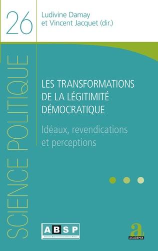 Couverture Les transformations de la légitimité démocratique
