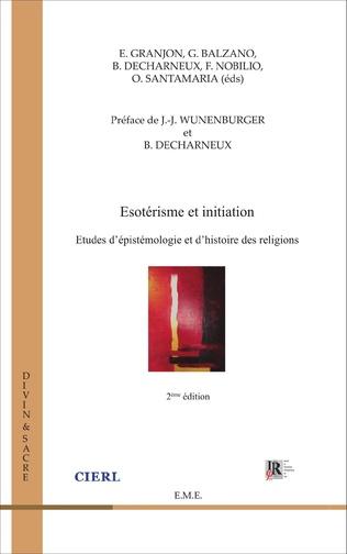 Couverture Ésotérisme et initiation (2e édition)