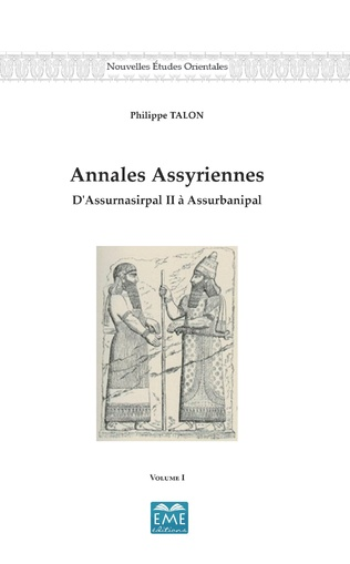 Couverture Annales Assyriennes (Volume I)