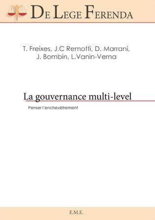 Couverture La gouvernance multi-level