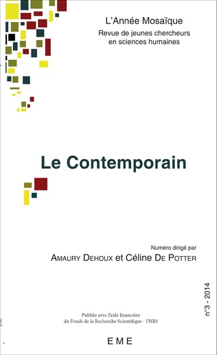 Couverture Le contemporain