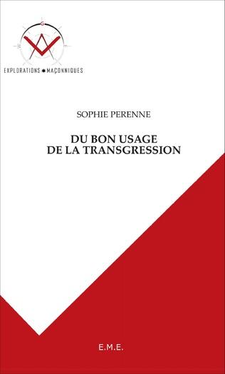 Couverture Du bon usage de la transgression