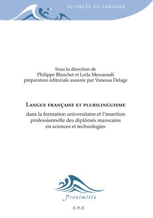 Couverture Langue française et plurilinguisme