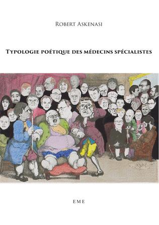 Couverture Typologie poétique des médecins spécialistes