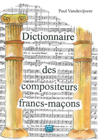 Couverture Dictionnaire des compositeurs francs-maçons