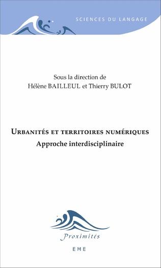 Couverture Urbanités et territoires numériques