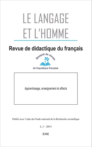 Couverture Apprentissage, enseignement et affects