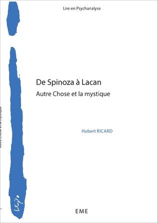 Couverture De Spinoza à Lacan
