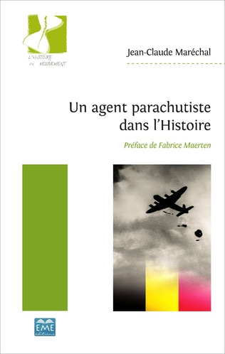 Couverture Un agent parachutiste dans l'Histoire