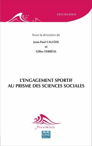 Couverture L'engagement sportif au prisme des sciences sociales