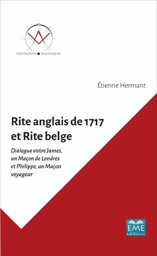 Couverture RITE ANGLAIS DE 1717 ET RITE BELGE