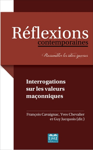 Couverture INTERROGATIONS SUR LES VALEURS MACONNIQUES