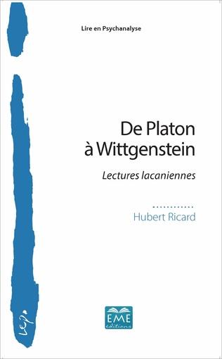 Couverture De Platon à Wittgenstein