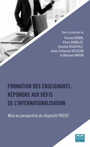 Couverture Formation des enseignants: répondre aux défis de l'internationalisation