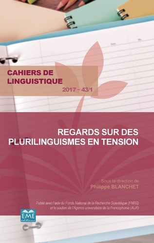 Couverture Regards sur des plurilinguismes en tension