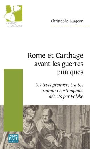 Couverture Rome et Carthage avant les guerres puniques