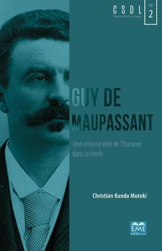 Couverture Guy de Maupassant