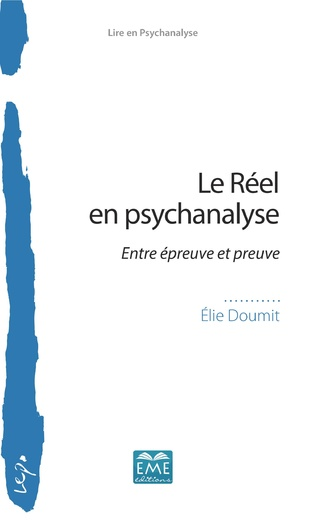 Couverture Le Réel en psychanalyse