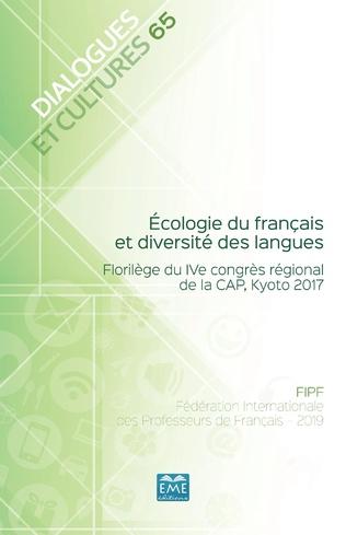 Couverture Écologie du français et diversité des langues