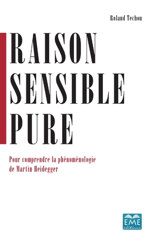 Couverture Raison sensible pure