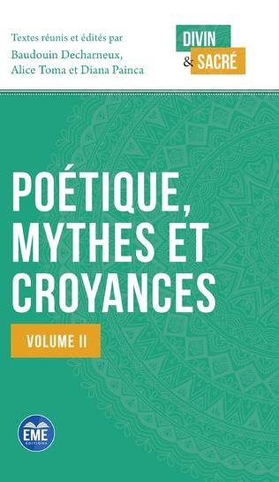 Couverture Poétique, mythes et croyances